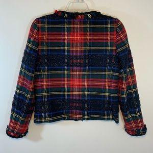 J. Crew Jackets & Coats - J.Crew Stewart Tartan jacket. Size 2